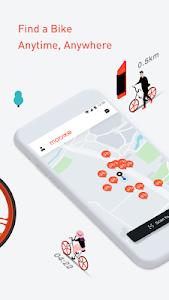 screenshot of Mobike - Smart Bike Sharing version 7.6.3