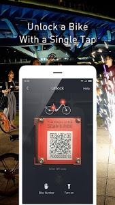 screenshot of Mobike - Smart Bike Sharing version 5.7.5