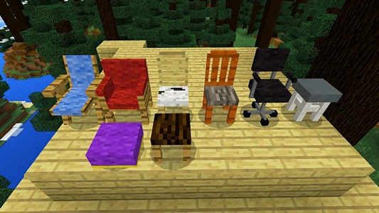 Download Modern furniture! Mod for Minecraft! 1.0 APK