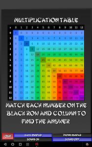 screenshot of Multiplication Ninja version 3