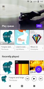 screenshot of Music version 9.4.2.A.0.1