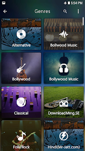 screenshot of Music Player version 1.1.4