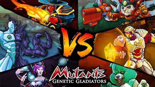 screenshot of Mutants Genetic Gladiators version 26.160.149782
