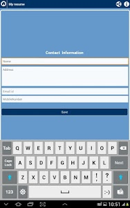 screenshot of My Resume Builder,CV Free Jobs version 3.5