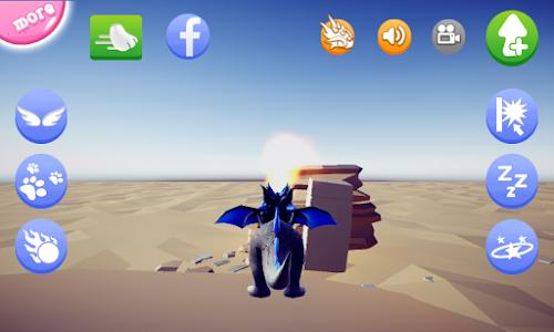 screenshot of My Talking Dragon version 1.7