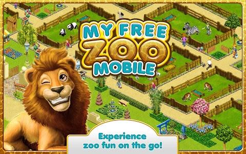 screenshot of MyFreeZoo Mobile version 2.0.040