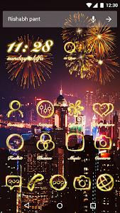 Download Neon Light Theme - Fire Flowers Theme 2018 1.0.0 APK