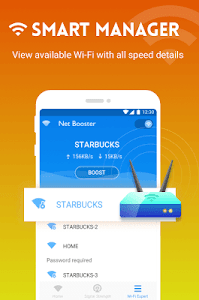 Download WiFi Speed Test & WiFi Boost by Net Booster 1.9.2.108 APK