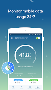 screenshot of Network Master - Speed Test version 1.9.76