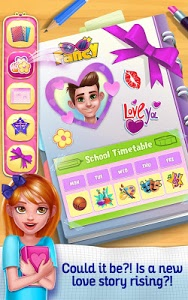 screenshot of New Girl in High School version 1.0.0