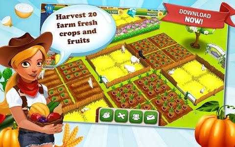 screenshot of My Free Farm 2 version 1.10.007