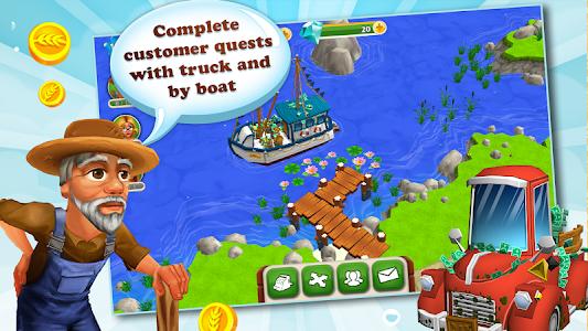 screenshot of My Free Farm 2 version 1.5.0