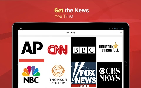screenshot of News Republic: Breaking News version 7.7.1