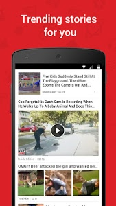 screenshot of News Republic—Breaking News version Varies with device