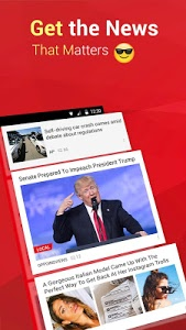 screenshot of News Republic: Breaking News & Local News For Free version 7.15.1