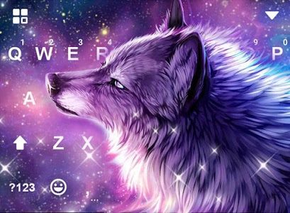 Download Starry Wolf Keyboard Theme 721.0 APK