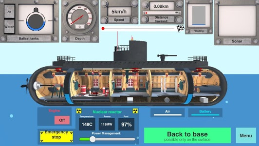 Download Nuclear Submarine inc 1.02 APK
