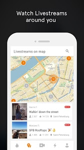 screenshot of OK Live - video livestreams version Varies with device