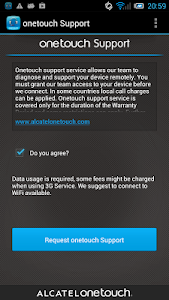 Download ONE TOUCH Support 1.0.71.1 APK