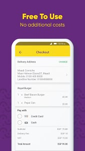 screenshot of Otlob - Food Delivery version 5.2.0