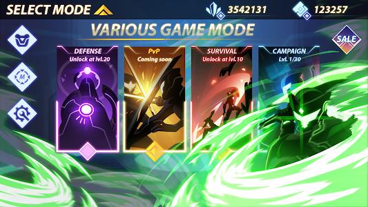 screenshot of Overdrive - Ninja Shadow Revenge version 1.5.7