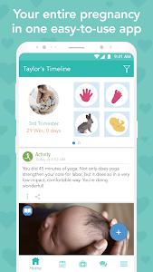 screenshot of Ovia Pregnancy Tracker: Baby Due Date Countdown version 2.2.12