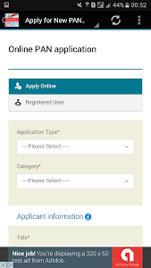 Download PAN Card Online Services 1.31 APK