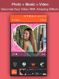 screenshot of Photo + Music = Video version 1002