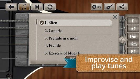 screenshot of Play Guitar Simulator version 1.6