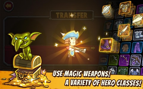screenshot of Pocket Heroes version 2.0.5