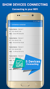 screenshot of Wifi Hotspot Free version 1.1.6
