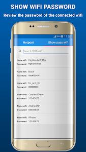 screenshot of Wifi Hotspot Free version 1.1.5
