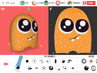 screenshot of Potatoyz version 1