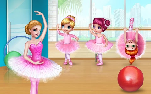 screenshot of Pretty Ballerina - Dress Up in Style & Dance version 1.4.4