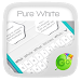 Download Pure White GO Keyboard Theme 4.16 APK