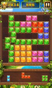 screenshot of Puzzle Block Jewels version 1.4.8