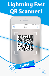 screenshot of Free QR Scanner: Easy-to-use QR Reader/QR Scanner version 0.38