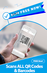 screenshot of Free QR Scanner: Bar Code Scanner & QR Code Reader version 0.99