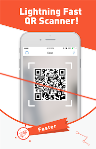 screenshot of Free QR Scanner for Android version 0.32