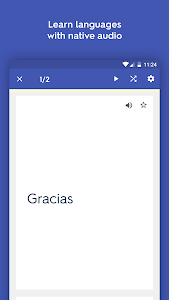 screenshot of Quizlet Learn With Flashcards version Varies with device