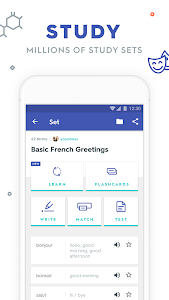 screenshot of Quizlet: Learn Languages & Vocab with Flashcards version Varies with device