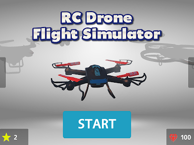 screenshot of RC Drone Flight Simulator 3D 2019 version 2.0