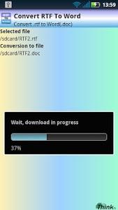 Download RTF To Word (.doc) 1.1 APK