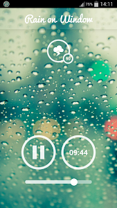 screenshot of Rain Sounds - Sleep & Relax version 2.4.2