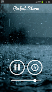 screenshot of Rain Sounds version 2.0.0