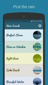 screenshot of Rain Sounds - Sleep & Relax version 2.4.6