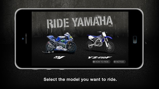 screenshot of Ride YAMAHA version 1.0.6