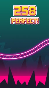 screenshot of Rollercoaster Dash - Rush and Jump the Train version 1.3.2