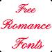 Download Romance Fonts for FlipFont 1.5 APK