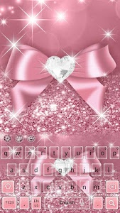 Download Pink Bow Keyboard 10001006 APK